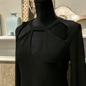 Norma Kamali Black Dress, Size S